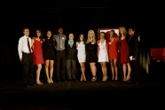 The Senior Award winners get honored at the Red and White Gala