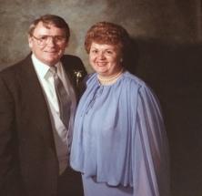 Carmel and late husband Pat Malley.